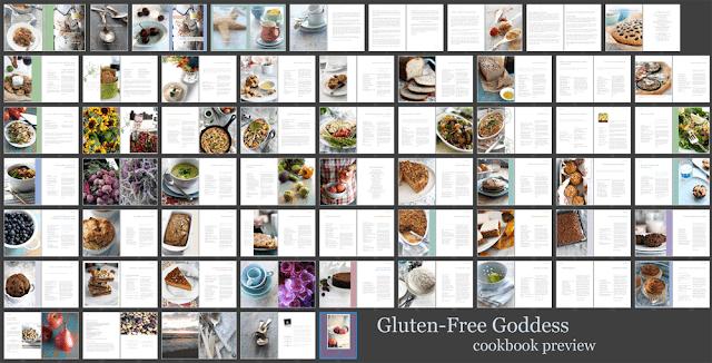 Gluten-Free Goddess ebook cookbook by Karina Allrich preview
