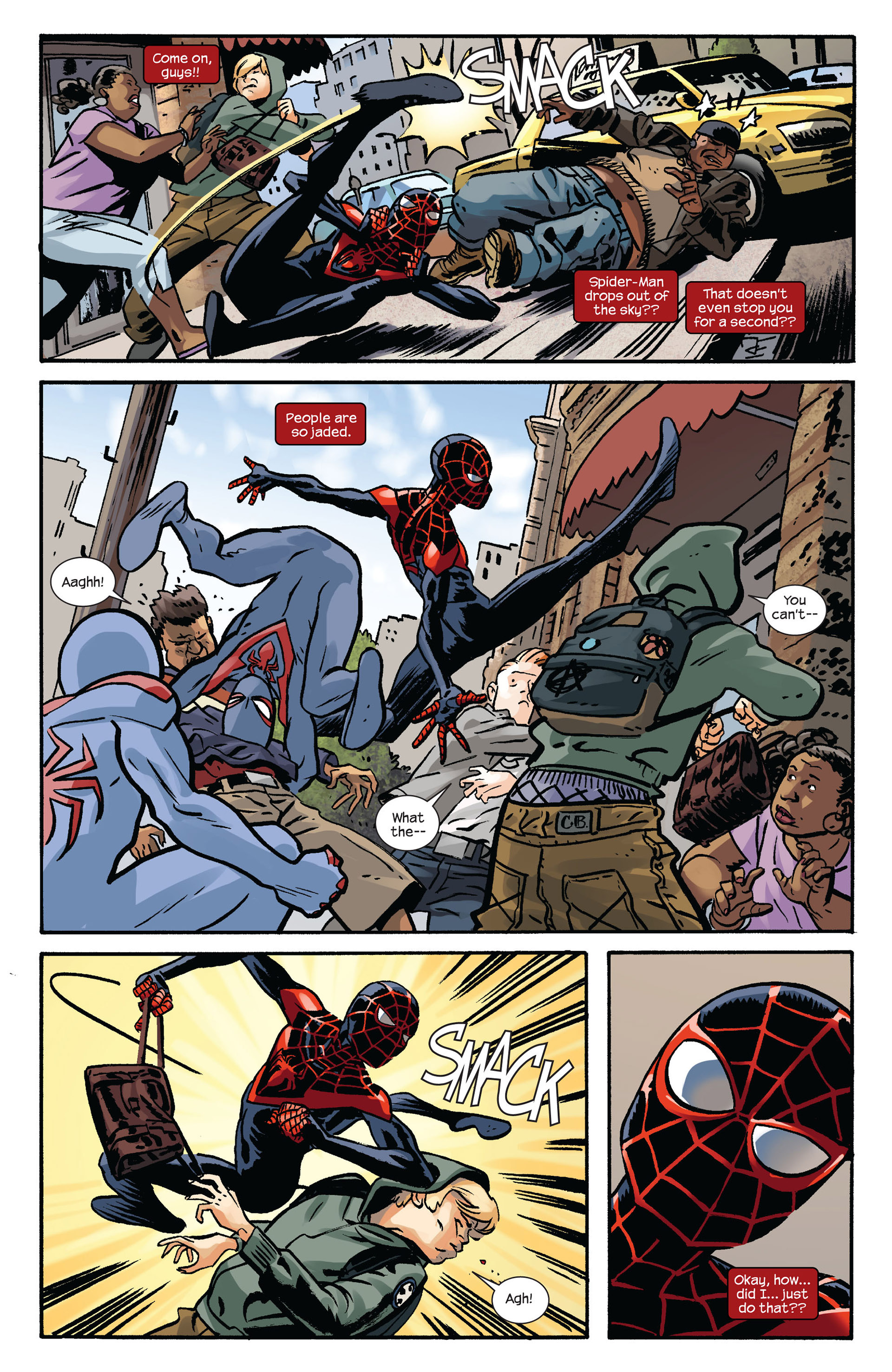 Read online Ultimate Comics Spider-Man (2011) comic -  Issue #6 - 8