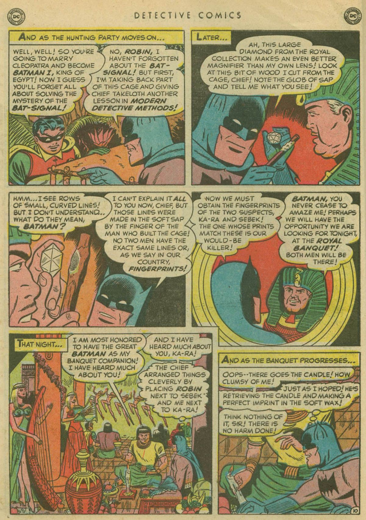 Read online Detective Comics (1937) comic -  Issue #167 - 12