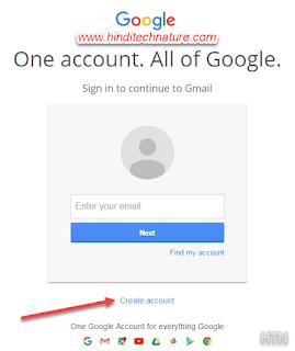 Create -g-mail-account