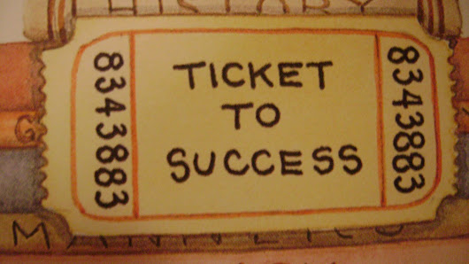 What is the real ticket to success?