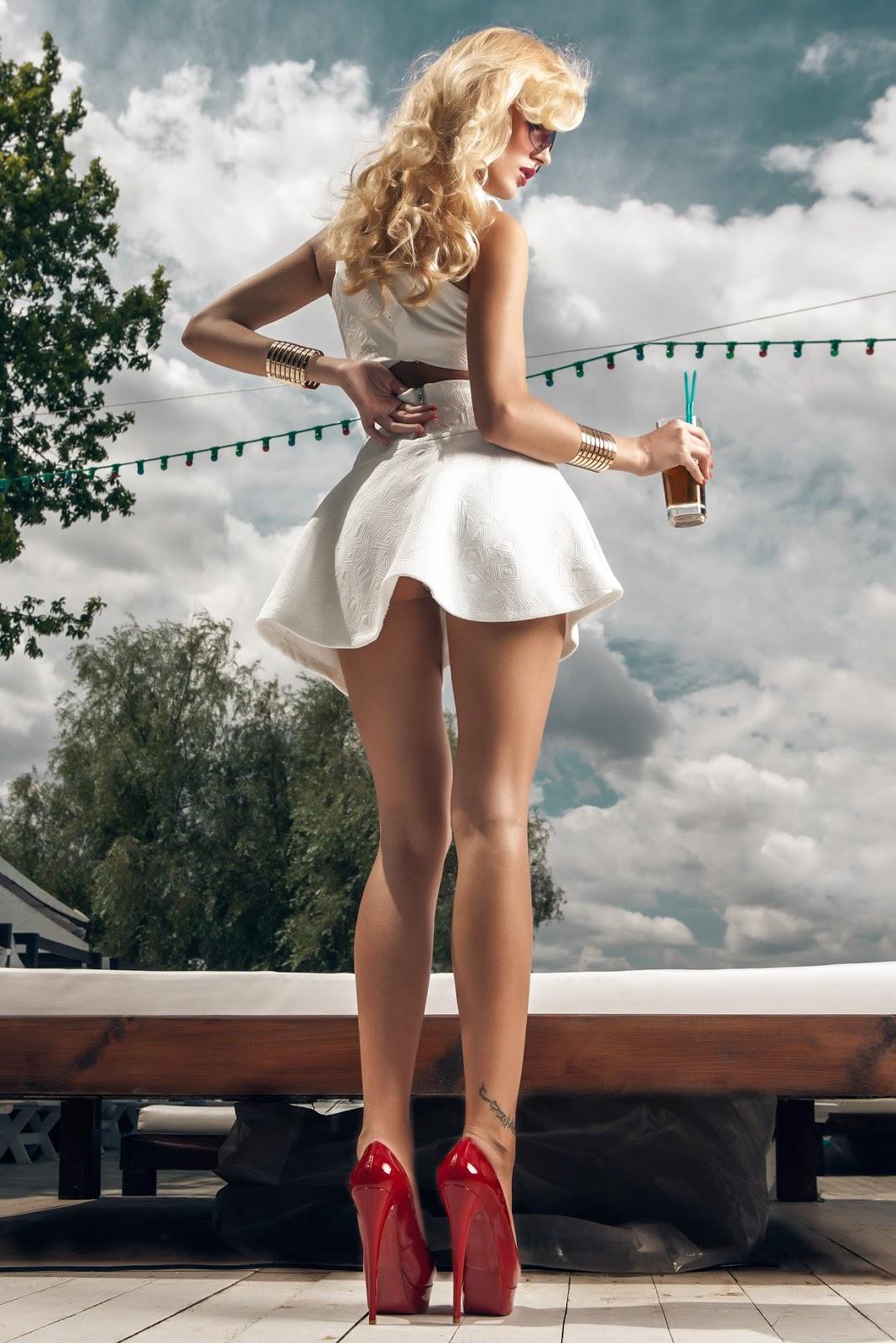 Beautiful Blonde Alina Gavrilyuk  Photo Gallery -3428