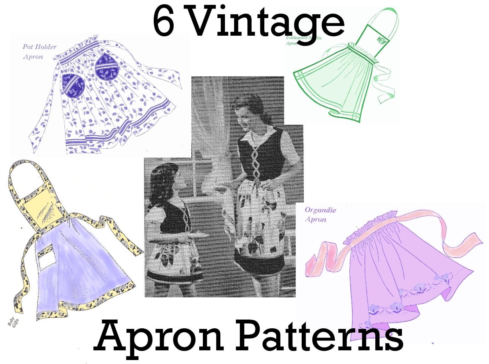 Free Apron Pattern Amazing Ideas