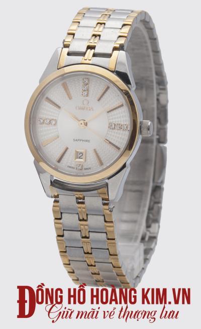 Đồng hồ omega nữ dây sắt sang trọng