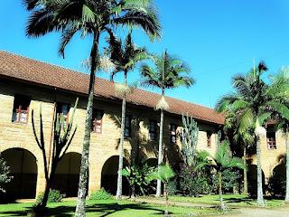 Pátio Interno do Convento São Boaventura, Imigrante (RS)