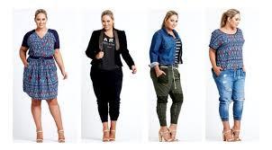 Fashion Wanita Gemuk Tinggi