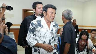 Ridho Rhoma Terus Perjuangkan Hak Rehab dengan Hadirkan Saksi Perantara Sabu