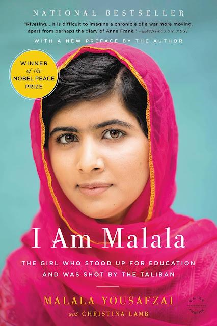 Giveaway: I am Malala book.  #StandWithMalala