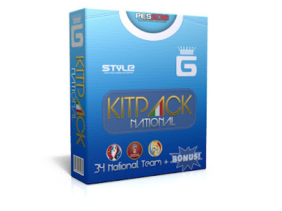 PES 2016 New KitPack National AIO Update v3.5 by G-Style
