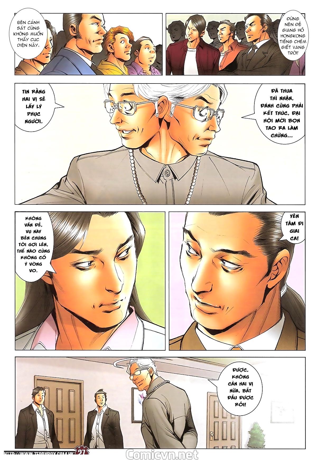 Người Trong Giang Hồ - Ngũ Hổ qui thiên - Chapter 1717: Đàm phán siêu cấp 3 - Pic 26