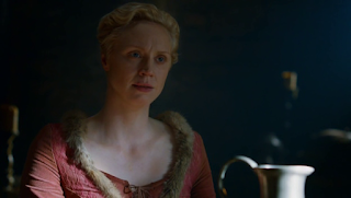 Guendoline Christie che interpreta Brienne di Tarth