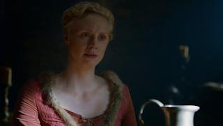 Guendoline Christie che interpreta Brienne di Tarth