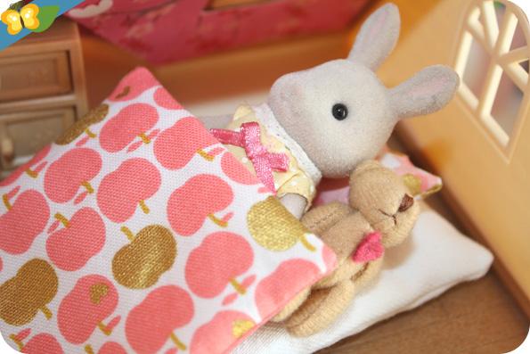 Petite literie de Catzilla's Mini pour Sylvanian Families