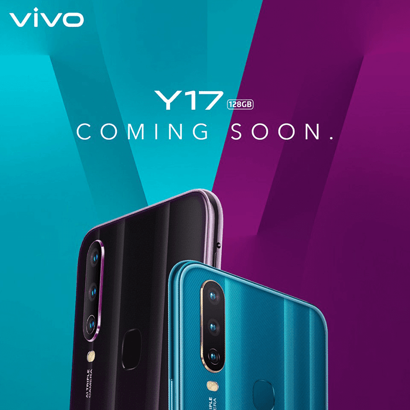 Vivo to launch Y17 in the Philippines soon!