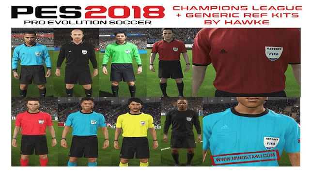 PES 2018 Big Referee Kitpack