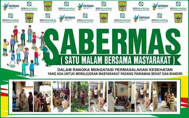 24 Jam Bersama Masyarakat, Begini Program Sabermas di Padangpariaman