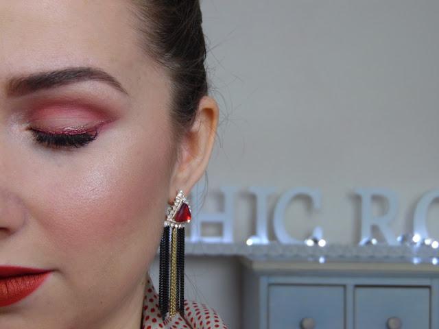 makeup rosso