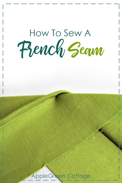 How to sew a French seam to give your sewing project a clean finish. French seams require no special sewing expertize but give your projects a professional look. Check out where's the (only) catch with a French seam.