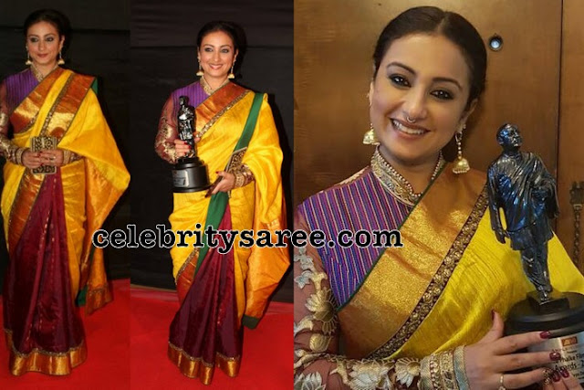 Divya Dutta at Dadasaheb Phalke Awards