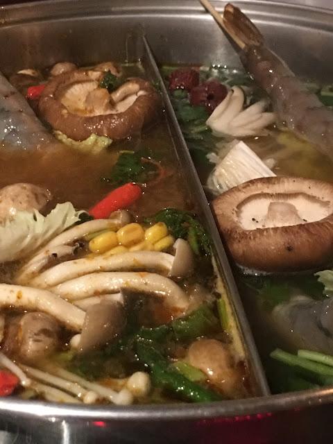 Asian hotpot at Hot Pot Chinatown London