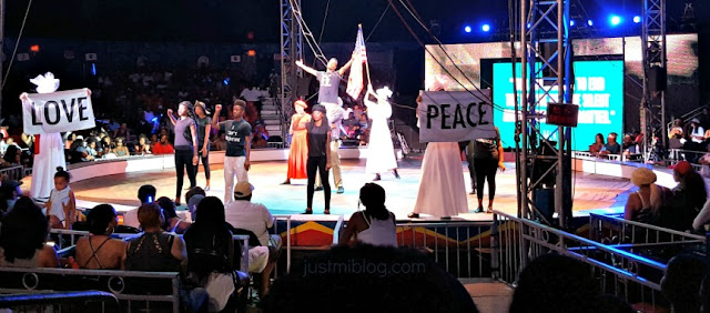 UniverSoul Circus ends with a message that your life matters.