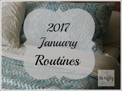 Creating new routines for january to better the quality of my life