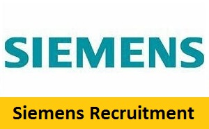 Siemens Recruitment 2017-2018