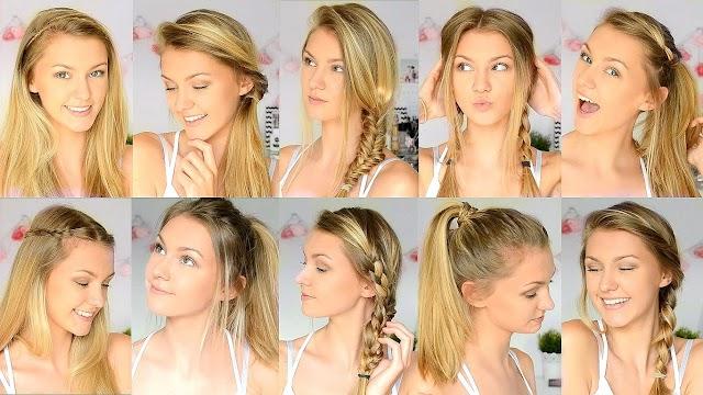 Back To School Hairstyles | EASY School Hairstyles