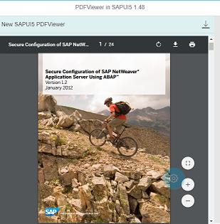 PDFViewer for SAPUI5 Application - SAP ABAP,SAPUI5,SAP HANA,SAP