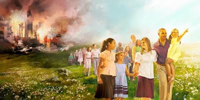 teori spekulasi kemungkinan badan pimpinan saksi yehuwa berkontradisksi dengan pernyataan yesus di alkitab tentang waktu kiamat