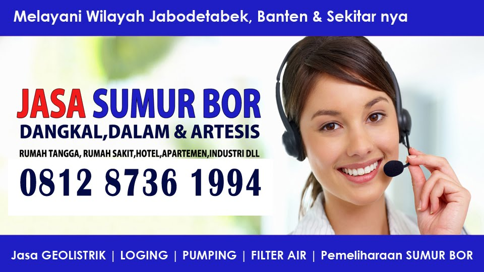 Jasa Sumur Bor Tangerang 081311327533