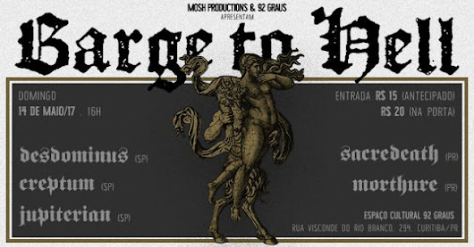 14/05/2017 - Barge To Hell (Curitiba/PR)
