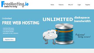 Cara Daftar Hosting Gratis di Free Hosting IO