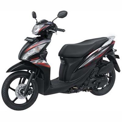 Harga Motor Honda Spacy Helm-In FI Terbaru