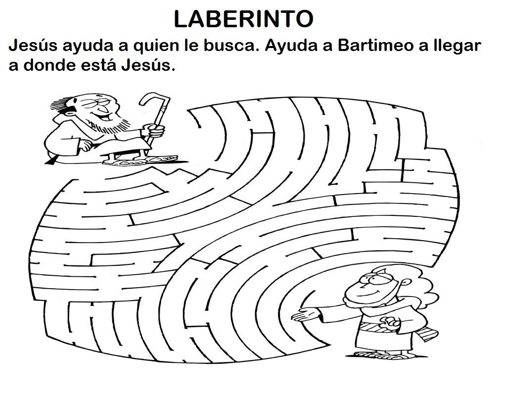 Educar Con Jesus Jesus Y Bartimeo Mc 10 46 52 Actividades