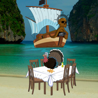 WowEscape Pirates Island Thanksgiving Escape