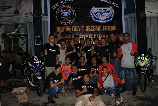 Aceh Jaya Mempunyai Komunitas Motor Yang Solid