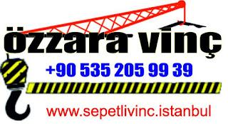 istanbul'da çekmeköy sepetli vinç kiralama firmaları