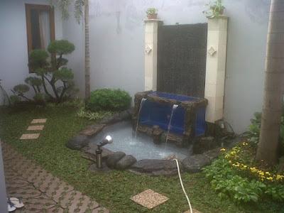 Kolam Minimalis Dengan lahan Yang Sempit