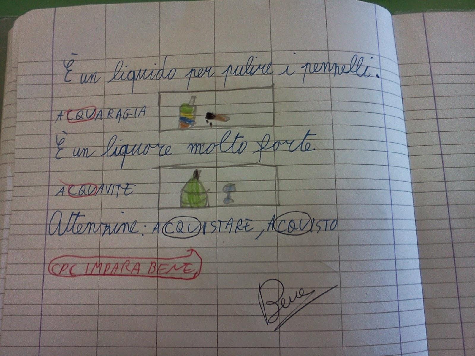 Conosciuto diario di classe: ITALIANO YX85