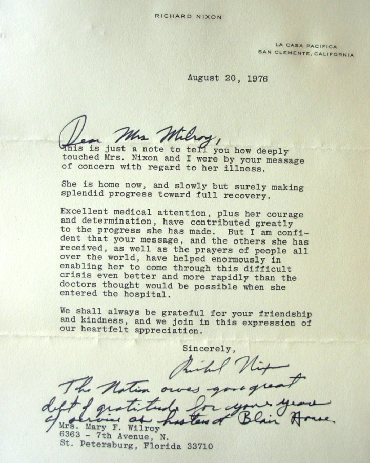 Nice Awesome Richard Nixon Resignation Letter Download Scan ...