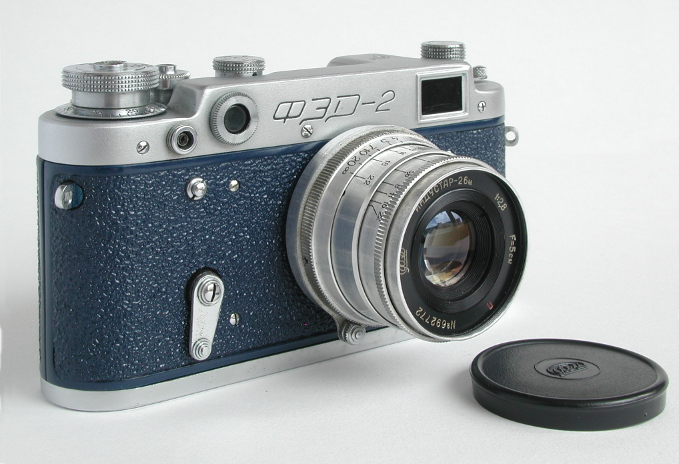 FED-2 range-finder camera