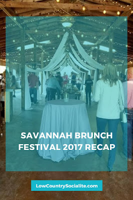 Savannah Brunch Festival, Savannah Events, The Low Country Socialite, Low Country Events