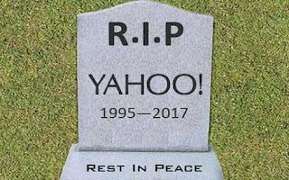 Too Big Too fail? RIP Yahoo