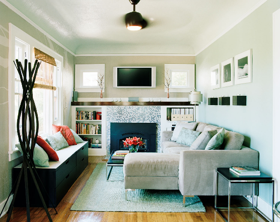 COCOCOZY: FOUR DESIGN IDEAS FOR A SMALL HOME
