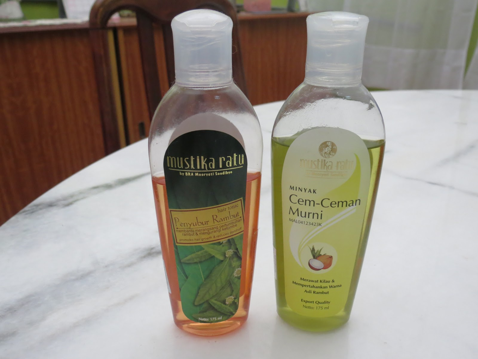 My Life As It Is Mustika Ratu Cem Ceman Oil And Hair Tonic