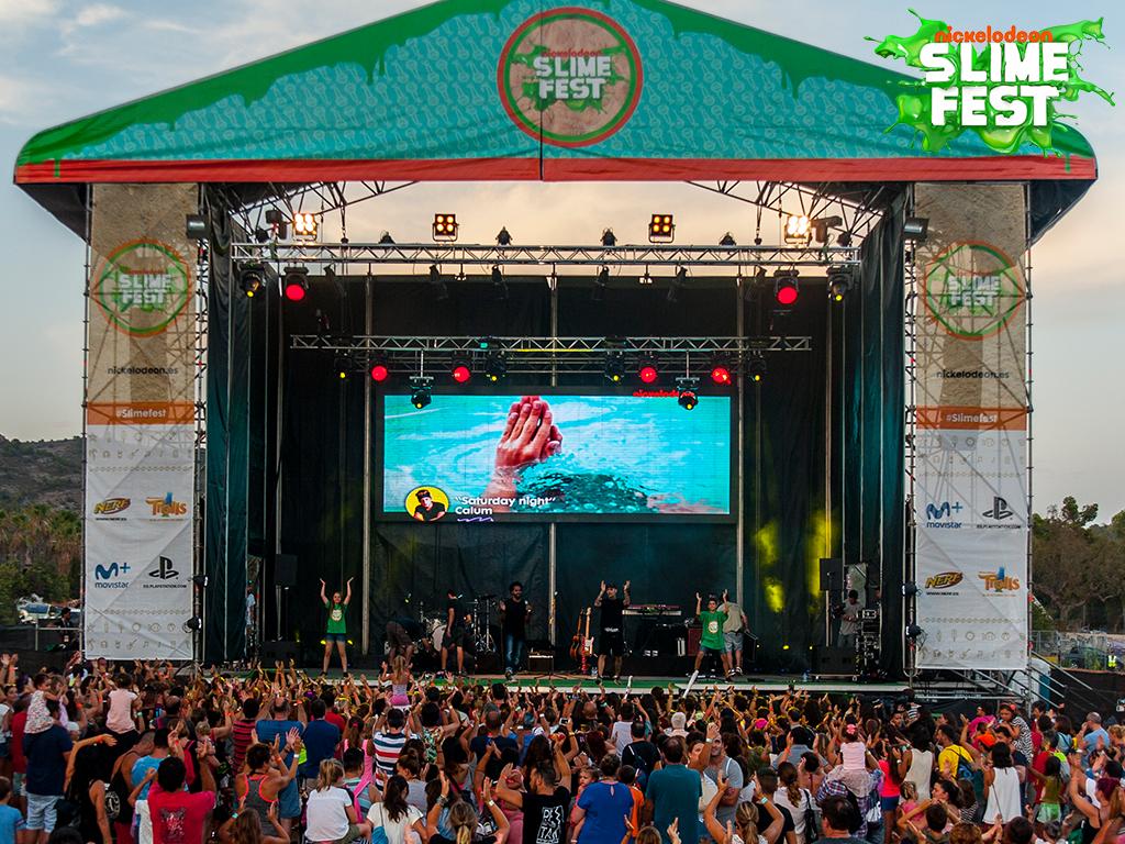 NickALive!: Nickelodeon Spain To Premiere Slime Fest 2016