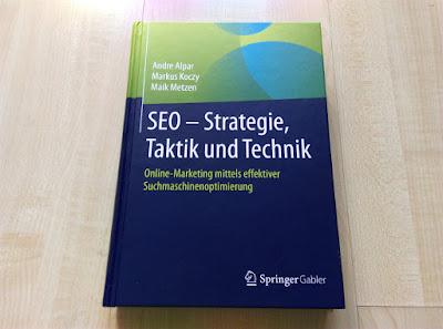 "Rezension zum Buch ""SEO - Strategie, Taktik und Technik""."