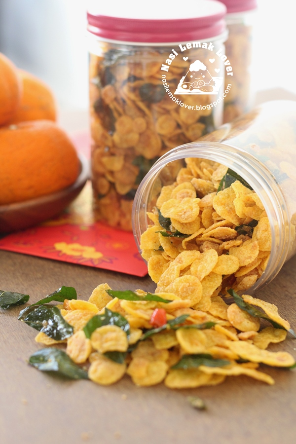 Golden Salted Egg Yolk Cornflakes ????????