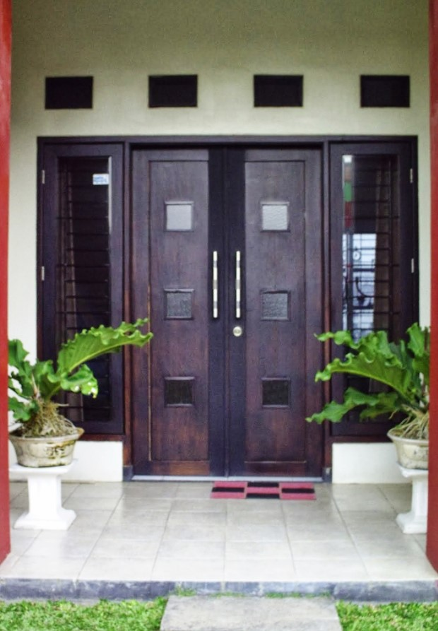 Model Pintu Dua Minimalis Terbaru Model Rumah 2020